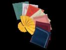 Tovaglioli in carta a secco tessuto di cellulosa colorato